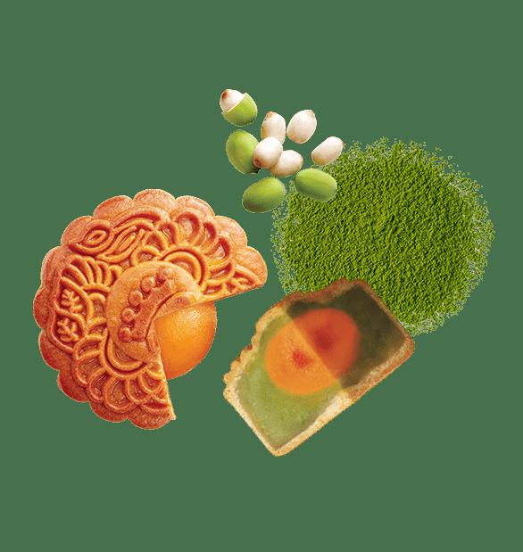 Hạt Sen Trà Xanh (bánh nhỏ)