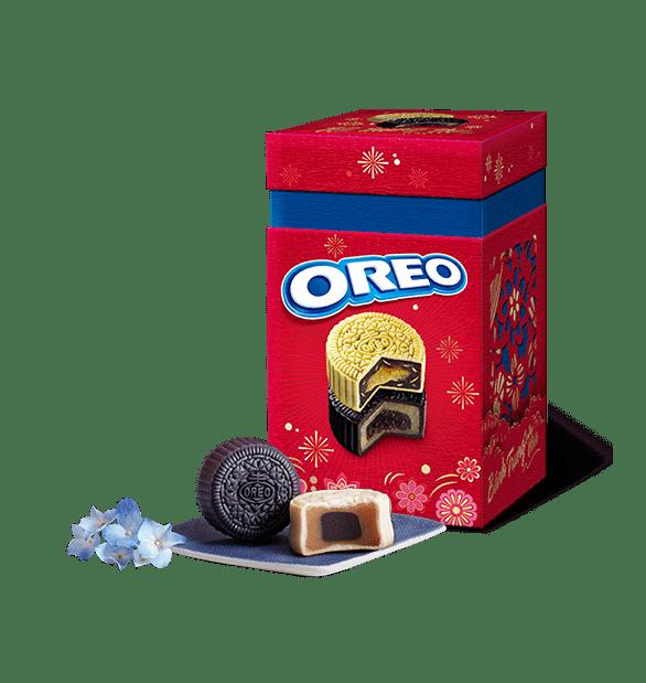 Hộp Bánh Trung Thu Oreo 4 Bánh